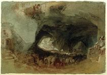 W.Turner, Das Innere einer Höhle bei Saumur by AKG  Images