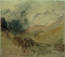 W.Turner, Montblanc und Le Chétif über Pré-Saint-Didier im Aostatal blickend by AKG  Images