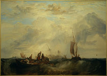 W.Turner, Mündung der Maas: Handelsschiff für Orangen zerbricht auf der Sandbank von AKG  Images