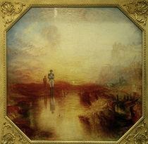 Krieg - Das Exil und die Napfschnecke / Gemälde von William Turner von AKG  Images