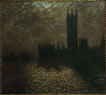 Monet / Parliament in London / 1904 by AKG  Images