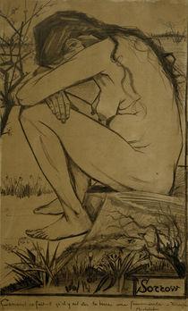 V. van Gogh, Sorrow / Drawing / 1882 by AKG  Images