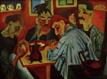 E.L.Kirchner, Farmers eating lunch by AKG  Images