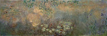 Claude Monet / Waterlily pond with iris by AKG  Images