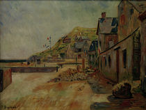 P.Signac, Port-en-Bessin on 14 July by AKG  Images