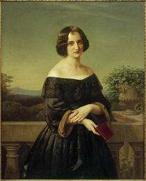 Marie Wiegmann / Gemälde von Carl Ferdinand Sohn by AKG  Images