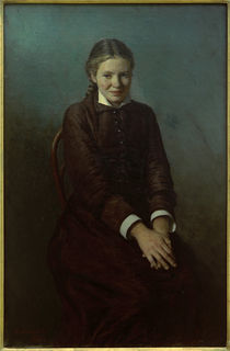 The Student / N. A. Yaroshenko / Painting, 1880 by AKG  Images