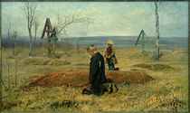 N.A.Kassatkin, Verwaist / Gemälde, 1891 by AKG  Images