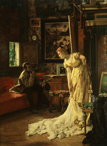 Alfred Stevens / The Atelier by AKG  Images