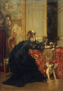 A.Stevens, Die Witwe od. Der letzte Tag der Witwenschaft by AKG  Images