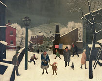 F.Sedlacek / Winter in Town / 1931 by AKG  Images