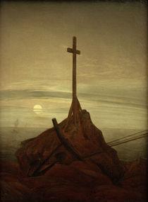 C.D.Friedrich, Kreuz an der Ostsee von AKG  Images