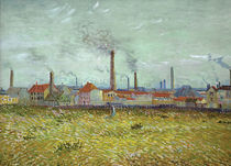 Van Gogh / Factories in Asnières by AKG  Images