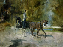 Toulouse-Lautrec / Un dog-cart/ 1880 by AKG  Images