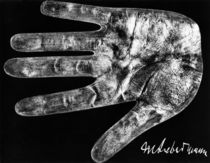Hand print of Max Liebermann / 1931 by AKG  Images