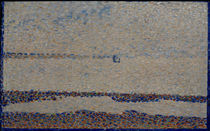 G.Seurat, Beach near Gravelines by AKG  Images