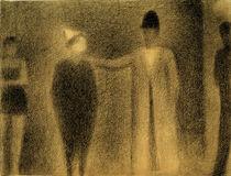 G.Seurat, Clown und drei Figuren (Studie) by AKG  Images