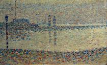 G.Seurat, Der Hafen von Gravelines / Studie by AKG  Images