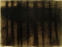 G.Seurat, Baumstämme, sich spiegelnd von AKG  Images