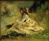 A.Renoir, Lise Tréhot auf einer Wiese by AKG  Images