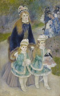 A.Renoir, Der Spaziergang (Mutter mit Kindern) by AKG  Images