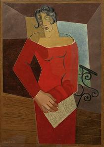 Juan Gris, Die Sängerin, 1926 by AKG  Images