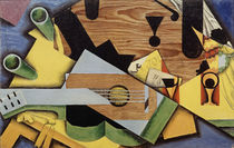 Juan Gris, Still Life with Guitar, 1913 by AKG  Images