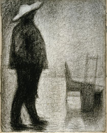 G.Seurat, Carrier of Goods / Drawing by AKG  Images