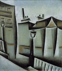 Juan Gris, Houses in Paris, 1911 by AKG  Images