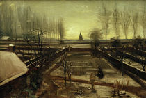 V. van Gogh, Nuenen parish garden in snow by AKG  Images