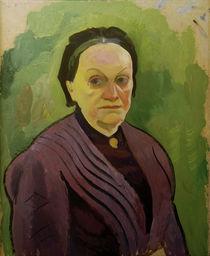 A.Macke / Portrait Study of Katharina Koehler by AKG  Images
