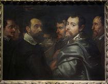 Rubens, Selbstbildnis mit Mantuaner Fr. von AKG  Images