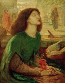 Beata Beatrix / Rossetti & Brown / Painting, 19th Century by AKG  Images