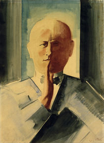 Oskar Schlemmer, self portrait, painting 1931/32 by AKG  Images