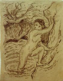 Franz Marc, Bathers I (Pointillist) by AKG  Images