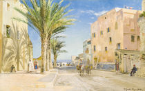 Afternoon in Algiers / Painting by Peder Mørk Mønsted by AKG  Images