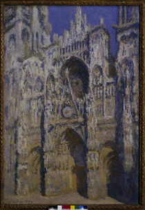 Monet / Rouen Carthedral sunlight / 1894 by AKG  Images