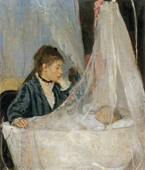 B.Morisot, The Cradle (Edma and Blanche) by AKG  Images