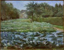 "M.Liebermann, ""Cabbage patch in the Wannsee Garden to the west"" / painting by AKG  Images"
