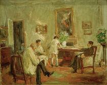 Max Liebermann, Familie / Gem. 1926 von AKG  Images