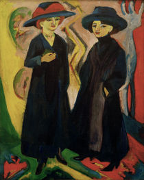 E.L.Kirchner / Two Girls (Shop Girls) by AKG  Images