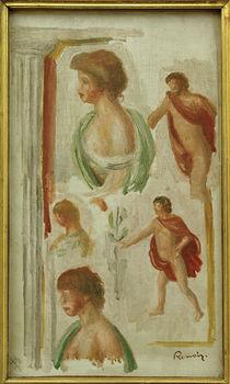 P.–A.Renoir, Studie von Figuren Antike von AKG  Images