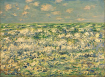 Claude Monet / Waves Breaking / Painting by AKG  Images