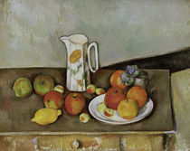 P.Cézanne / Still life with milk jug. by AKG  Images