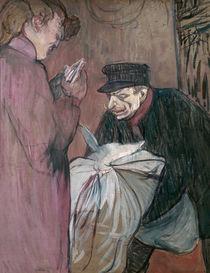 Toulouse-Lautrec, Wäschereimann von AKG  Images