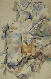 Cézanne / Rocks... Château Noir by AKG  Images