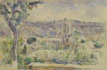 Paul Cézanne, Die Kathedrale in Aix von AKG  Images