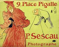 H.Toulouse-Lautrec, P.Sescau, Photogr. by AKG  Images