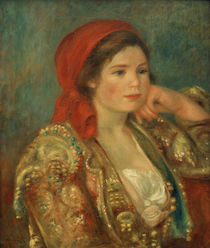 Renoir / Girl in a Spanish Jacket by AKG  Images
