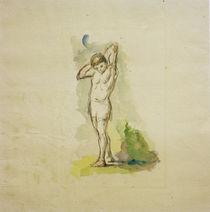 P.Cézanne, Stehender Badender von AKG  Images